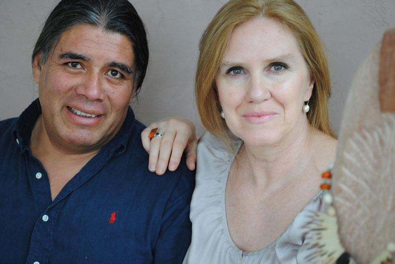 Gründer und Herzstück von INKAREISEN:  Barbara Hemmer de Vizcarra und Jorge Andrés Vizcarra