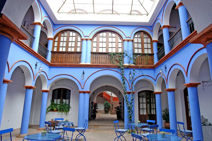 Parador Santa Maria Innenhof - Sucre Bolivien