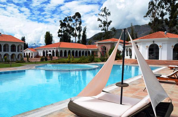DM Andino Hotel Hacienda & Spa Pool - La Paz