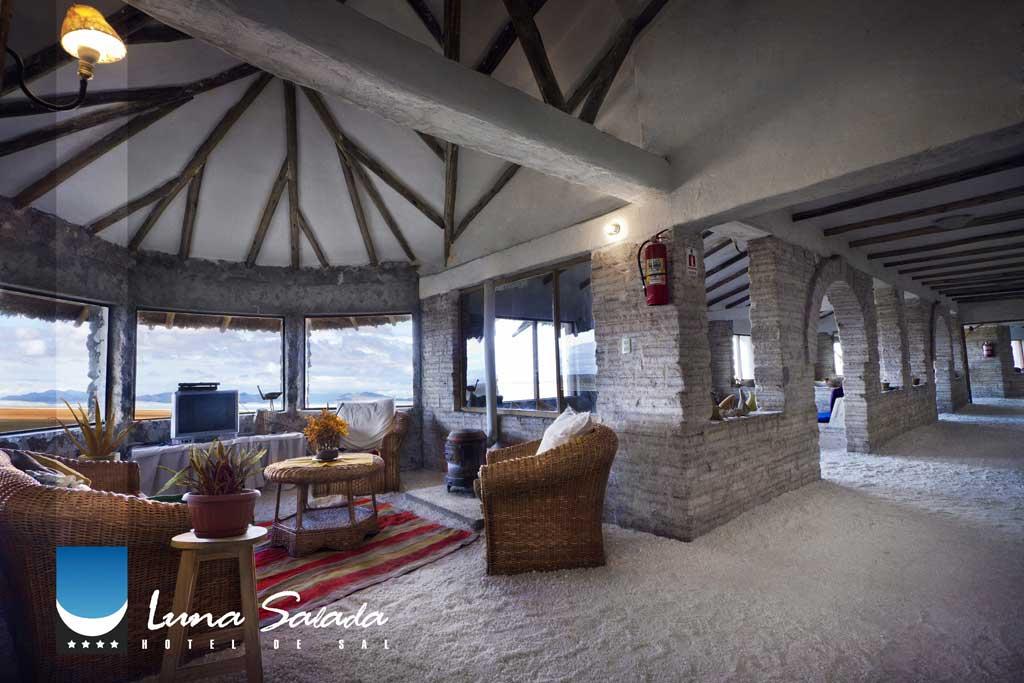 Hotel Luna Salada Bolivien - Ausblick